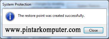 Cara Membuat System Restore Point Windows 7 (5)