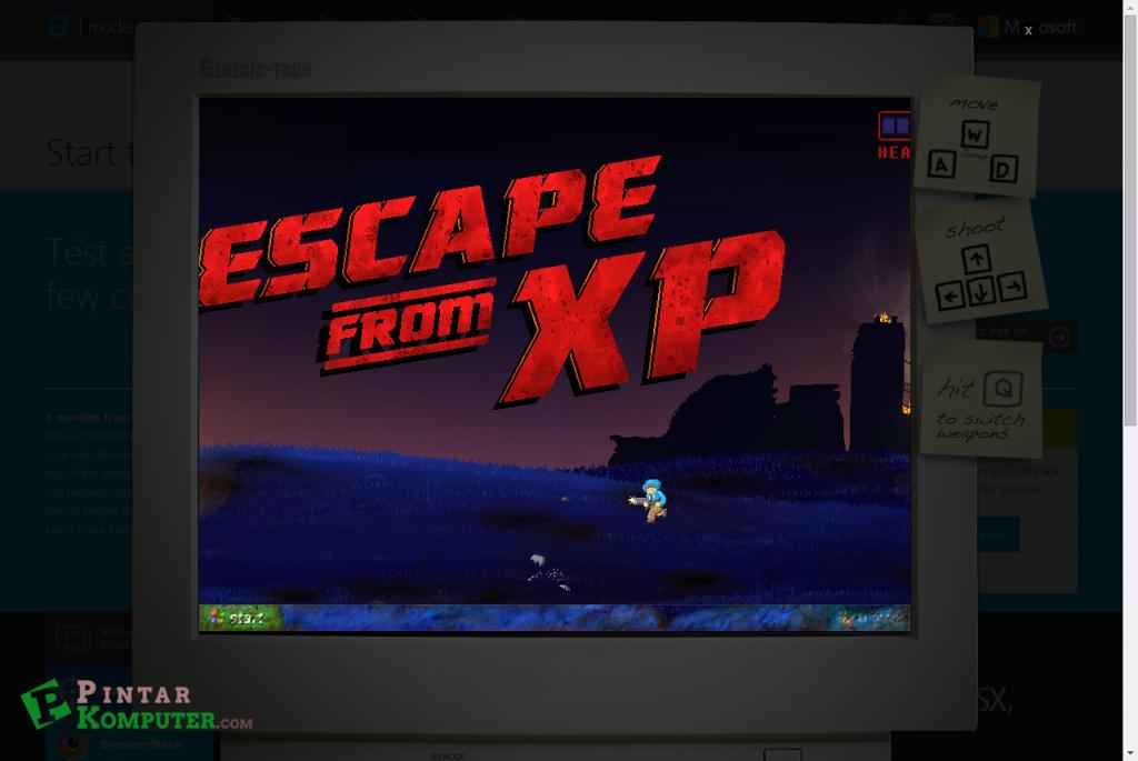 Game Buatan Microsoft Untuk Membujuk Windows Xp Beralih