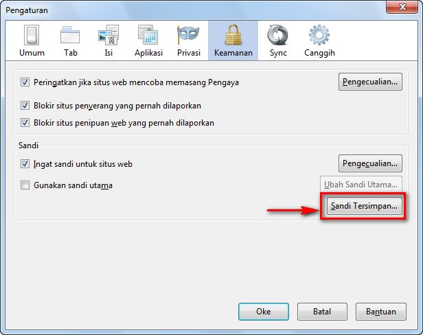 Intip Password Melalui History di Firefox