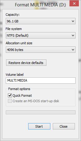 Apa sih Perbedaan Format Biasa Dengan Quick Format ???