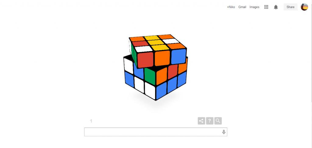 Google Doodle Hadirkan Permainan Rubrik Virtual