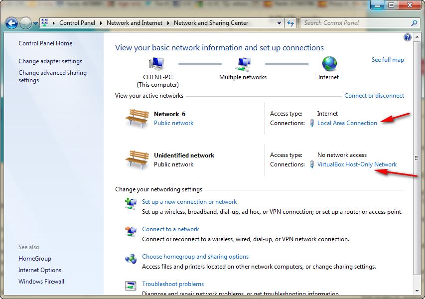 Cara Melihat dan Mengtahui IP Address Pada Komputer - Melalui Network and Sharing Center (1)