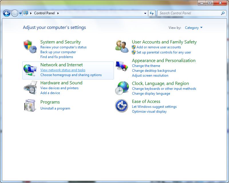Cara Setting / Mengganti IP Address Pada Komputer OS Windows