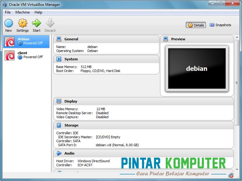Tutorial Cara Menginstall Windows 7 Di Virtualbox Pintar Komputer