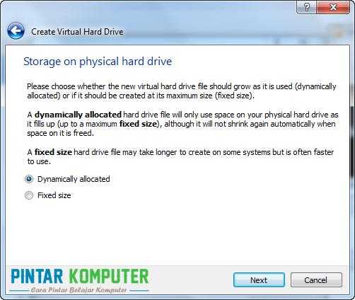 Tutorial Cara Menginstall Windows 7 di VirtualBox