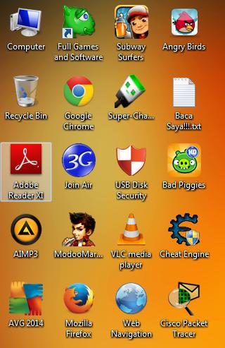 Cara Menghilangkan Icon Tanda Panah Shortcut Pada Windows