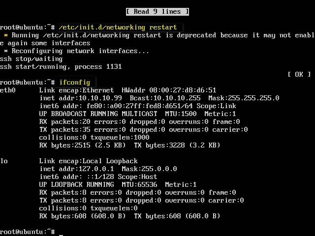 Setting IP Address di Ubuntu Server Dengan Metode DHCP Client