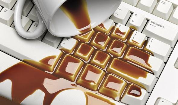 Cara merawat laptop - laptop terkena air