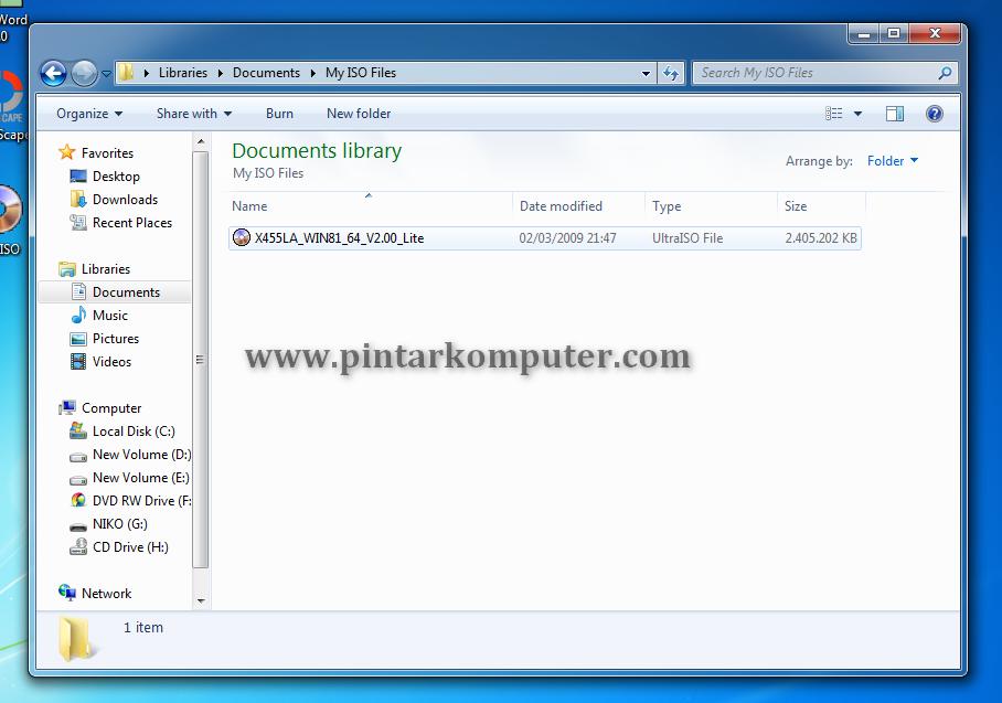 Cara Mudah Membuat File ISO dari CD/DVD Menggunakan UltraISO