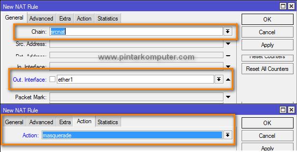 Tutorial Cara Setting Mikrotik Sebagai Router Gateway Internet