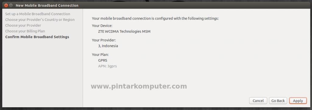 Cara Paling Gampang Setting Dial Up Modem GSM di Ubuntu
