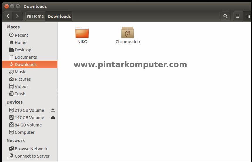 Cara install Aplikasi dengan Format File .deb di Linux Ubuntu