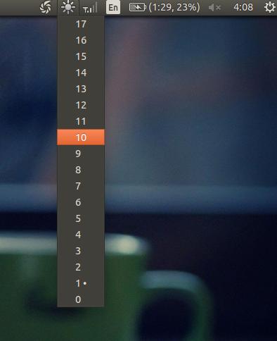 Cara Menambahkan Brightness Control Pada Ubuntu Desktop Menggunakan Indicator Brightness