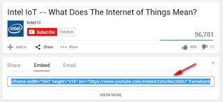 Cara Memasukkan Video Youtube ke Postingan Blog atau Website