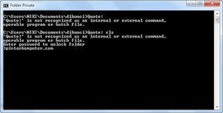 Cara Mengunci Folder Dengan Password di Windows Tanpa Software