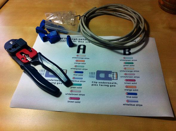 Cara Membuat Cross-Over Cables (Kabel LAN)