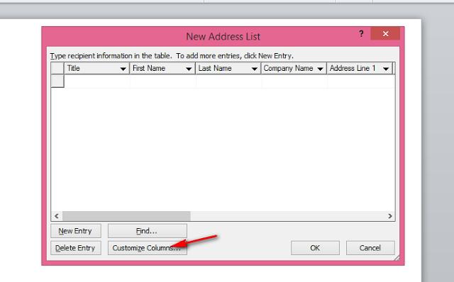 Cara Membuat Mail Merge di Ms. Office Word 2007, 2010, 2013