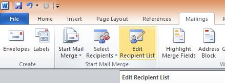 Cara Membuat Mail Merge di Word Menggunakan Sumber Data Dari Excel, Lebih Praktis!!