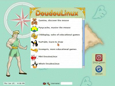 Referensi Distribusi Linux Terbaik Sesuai Kebutuhan - doudou