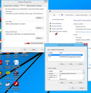 Cara Memperbaiki JDK Yang Error Ketika Membuka Android Studio (Setting JAVA_HOME)