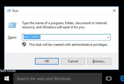 Tutorial Cara Booting Safe Mode Pada Windows 10 - safe mode