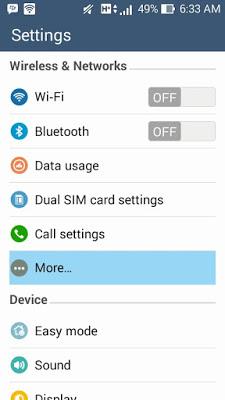 Cara Mengaktifkan WiFi Hotspot Pada HP Android
