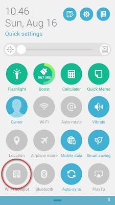 Cara Menjadikan Android Sebagai Modem Dengan USB Tethering