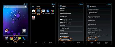 Cara Enable / Mengaktifkan USB Debugging Mode di Semua Versi Android