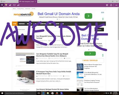 10 Alasan Kamu Harus Menggunakan Browser Microsoft Edge