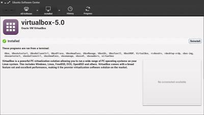 Cara Install Oracle VM VirtualBox di Linux Ubuntu