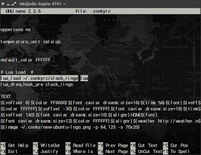 Cara Install Conky Lua di Ubuntu, Debian, Fedora, Linux Mint dan OpenSUSE