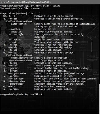 Cara Convert RPM ke DEB dan Sebaliknya Menggunakan Alien di Ubuntu