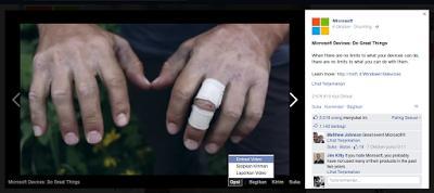 Cara Embed Video Facebook ke Dalam Website