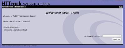 Cara Install Dan Menggunakan Httrack di Linux (GUI)