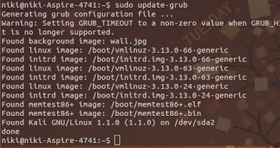 Cara Mengubah Background GRUB Dengan Gambar Pada Linux