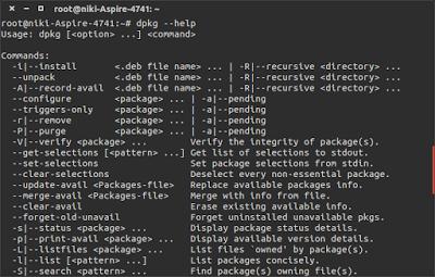 """10 Contoh Perintah """"dpkg"""" Pada Distro Berbasis Debian"""
