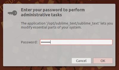 Cara Menjalankan Aplikasi Sebagai Root Dari Launcher Di Ubuntu