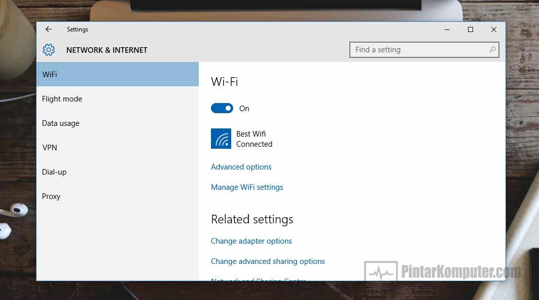 Cara Mengaktifkan Wifi di Laptop Bagi Pengguna Windows 10 (1)