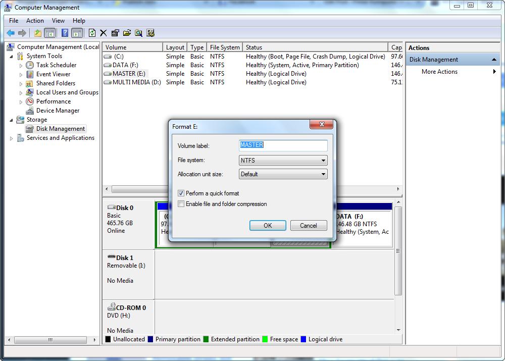 format file system