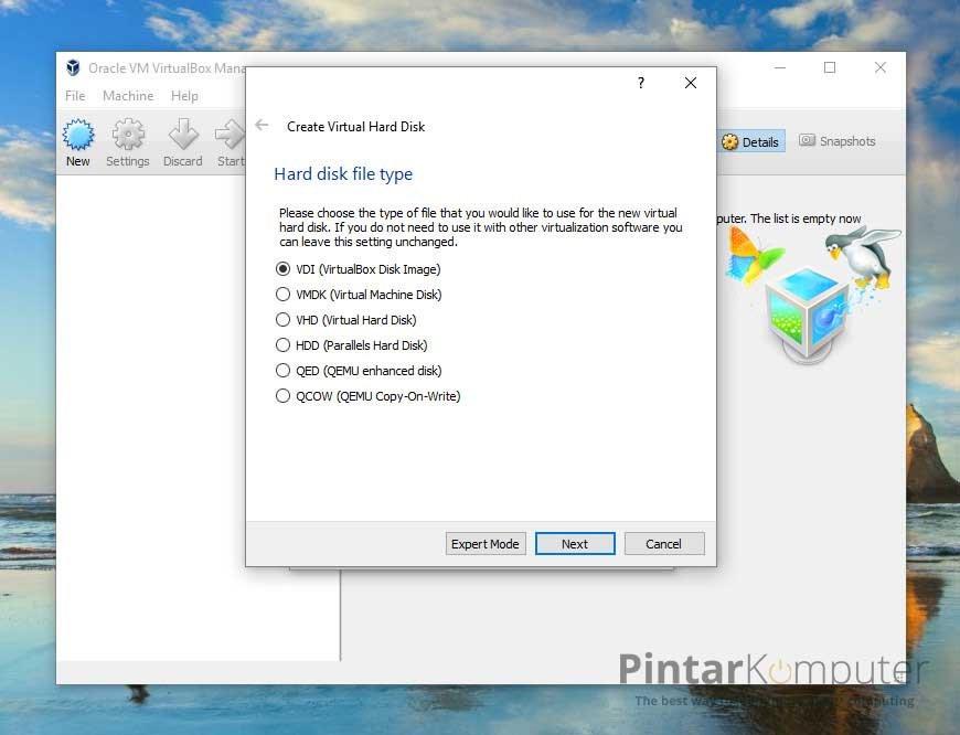 Cara Install Linux Ubuntu di VirtualBox (5)