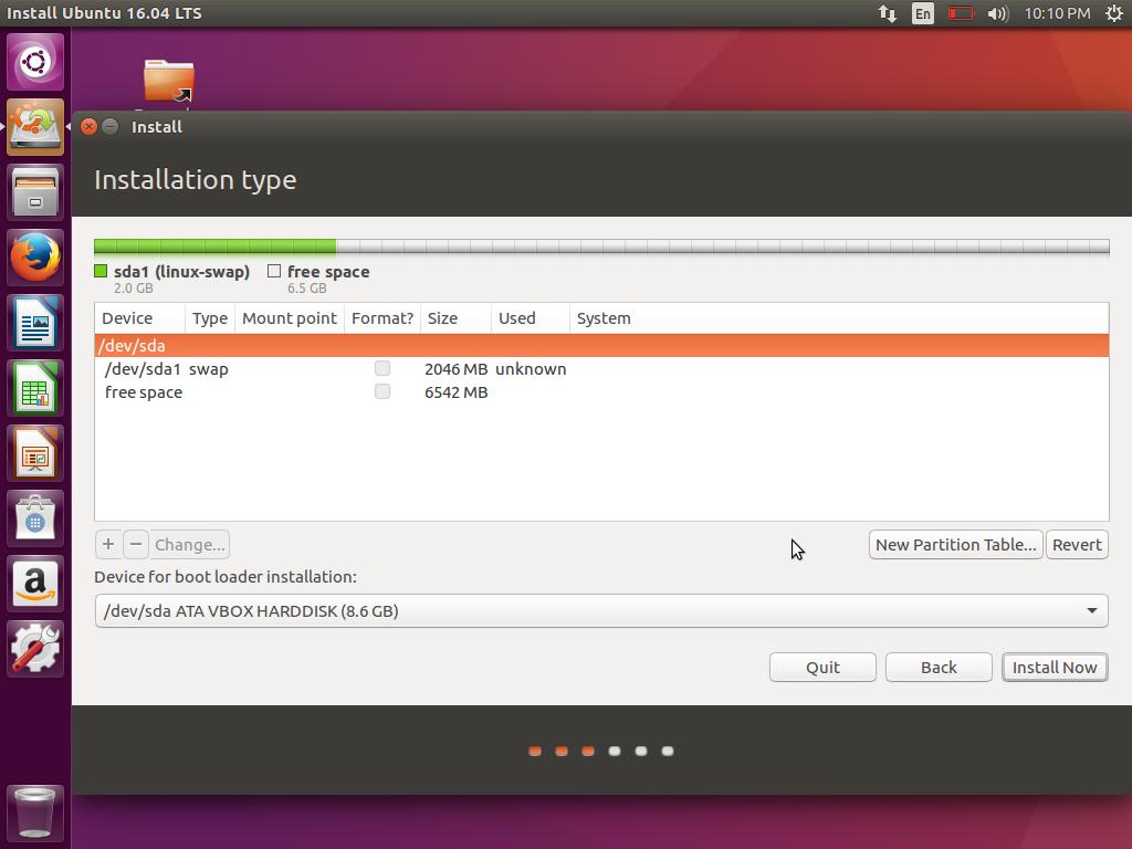 Cara Instal Ubuntu 16.04 LTS Xenial Xerus (11)