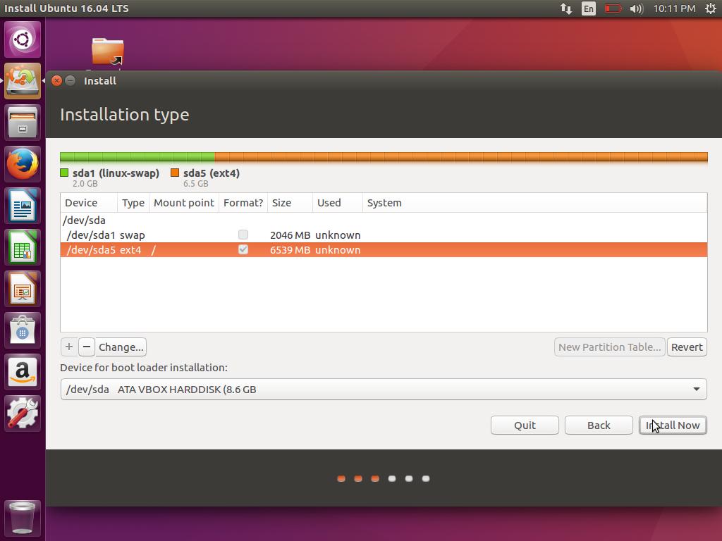Cara Instal Ubuntu 16.04 LTS Xenial Xerus (13)