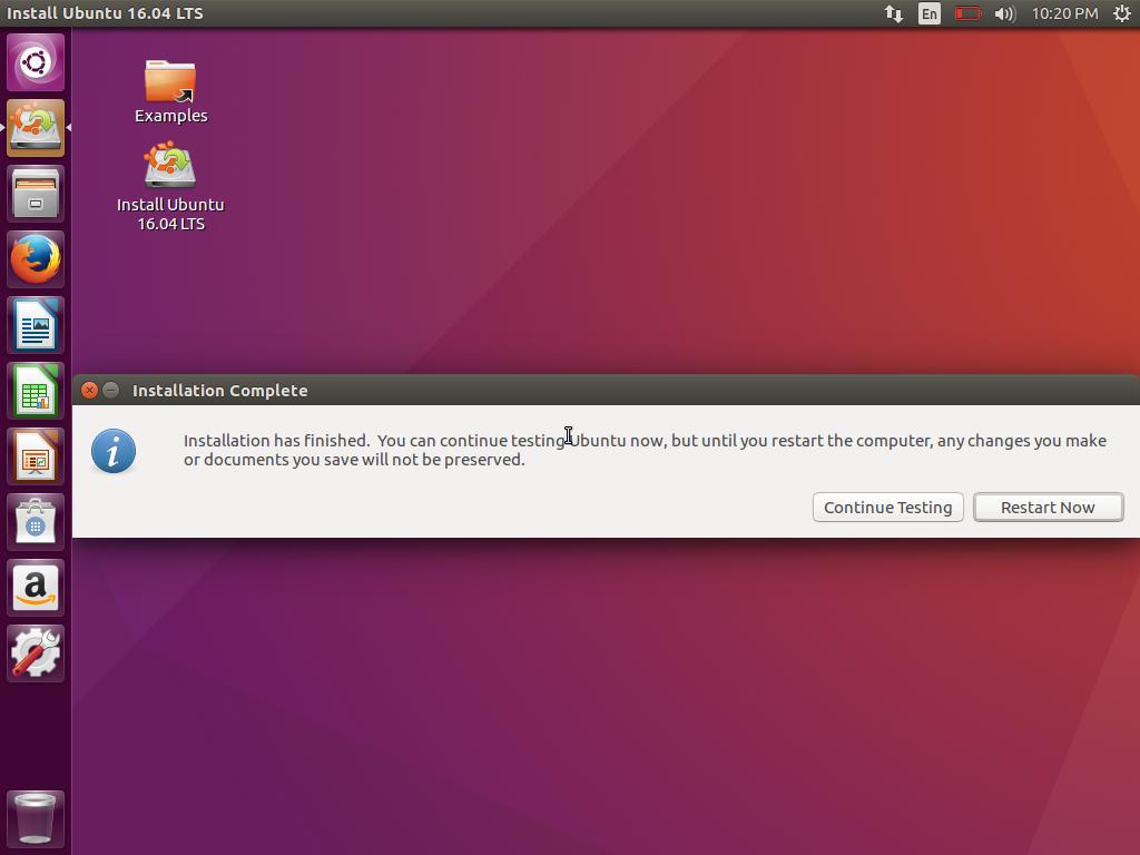 Cara Instal Ubuntu 16.04 LTS Xenial Xerus (20)