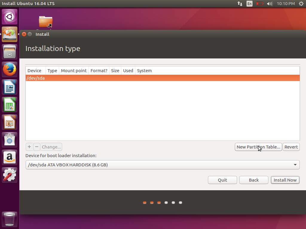 Cara Instal Ubuntu 16.04 LTS Xenial Xerus (7)