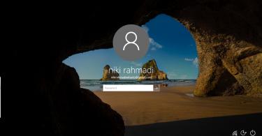 Screenshot Lockscreen Windows 10