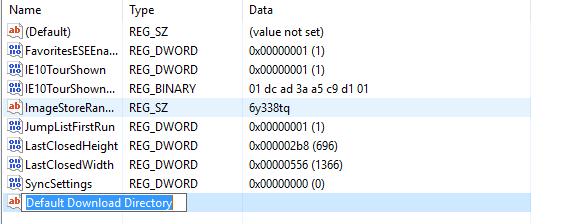 mengubah lokasi folder download microsoft edge 2