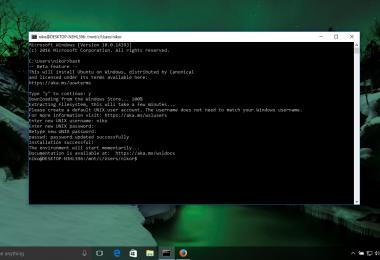Cara Mengaktifkan Linux Bash Pada Windows 10 (2)