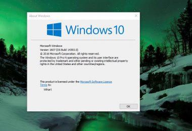 Upgrade Windows 10 Anniversary Update