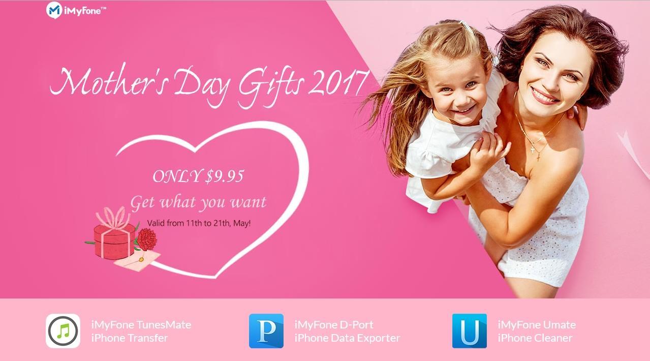"""Penawaran Spesial """"Hari Ibu"""", 3 Apps iMyFone Sotware Hanya $9.95!!"""
