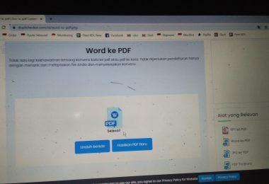 Apakah Aman Mengonversi File Word ke PDF Online